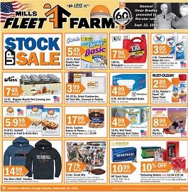 Mills Fleet Farm Weekly Ad Circular