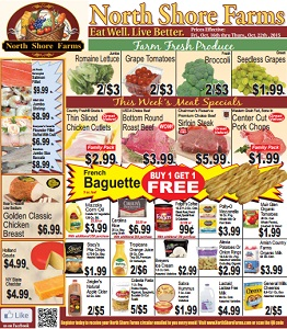 North Shore Farms Weekly Ad Grocery Circular