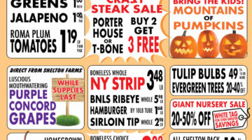 Shelton Farms Weekly Ad 10/05/2020 - 10/11/2020