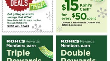 Kohl's Weekly Ad 10/05/2020 - 10/08/2020