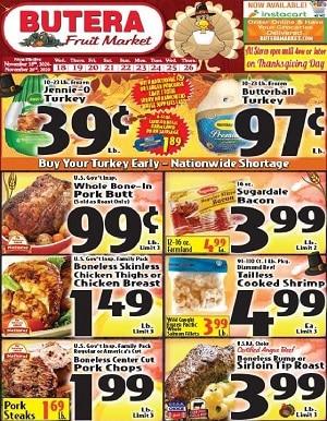 Butera Market Weekly Ad 11/18/2020 – 11/26/2020