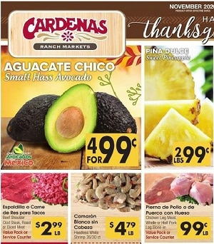 Cardenas Market Weekly Ad Specials 11/18/2020 – 11/24/2020