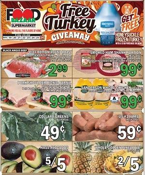 Food Bazaar Weekly Circular 11/19/2020- 11/25/2020