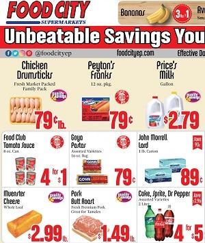 Food City El Paso Weekly Ad