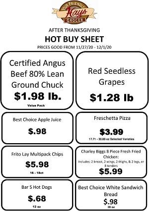 Hays Supermarkets Weekly Ad