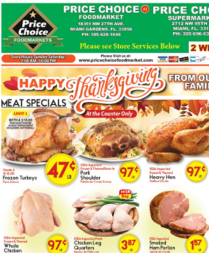 Price Choice Weekly Ad 11/18/2020 – 12/01/2020