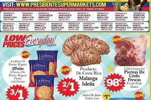 Presidente Supermarkets Weekly Ad