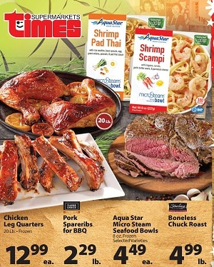 Times Supermarkets Sale Ad