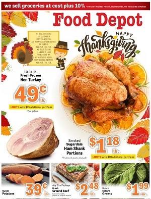 Food Depot Weekly Ad 11/16/2020 – 11/29/2020
